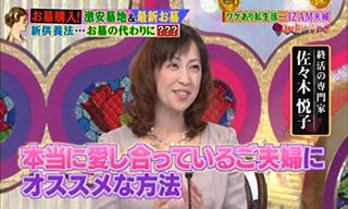 TBSテレビ 『私の何がイケないの?』「IZAM家のお墓にトラブル発生!」2014年2月3日放送