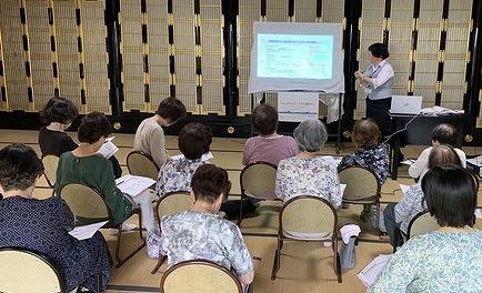 エンディングコンサルタント上級資格者・中村相談員が地元富山県高岡市で終活セミナーの講師を務めました